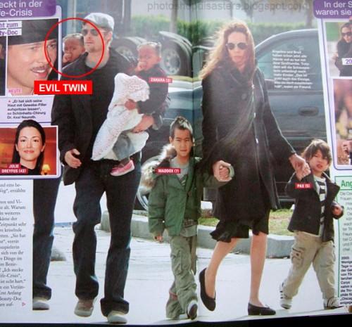 Piores erros do Photoshop - filhos clonados