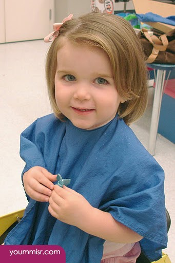 قصير للبنات قصات شعر للاطفال بنات