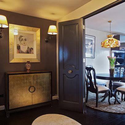 Black And Gold Dining Rooms Interior Design Ideas