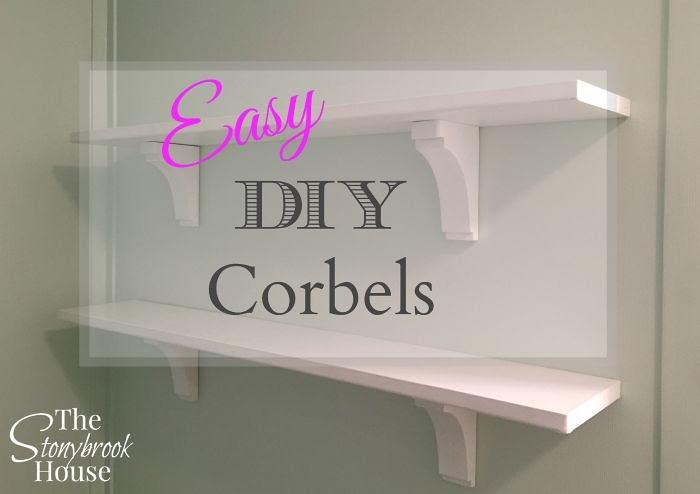 Easy DIY Corbels Aka Shelf Brackets Only Nicer The