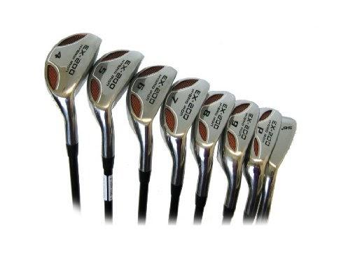 Best Powerbilt EX 200 Hybrid Iron Set Golf Clubs RH 4 SW