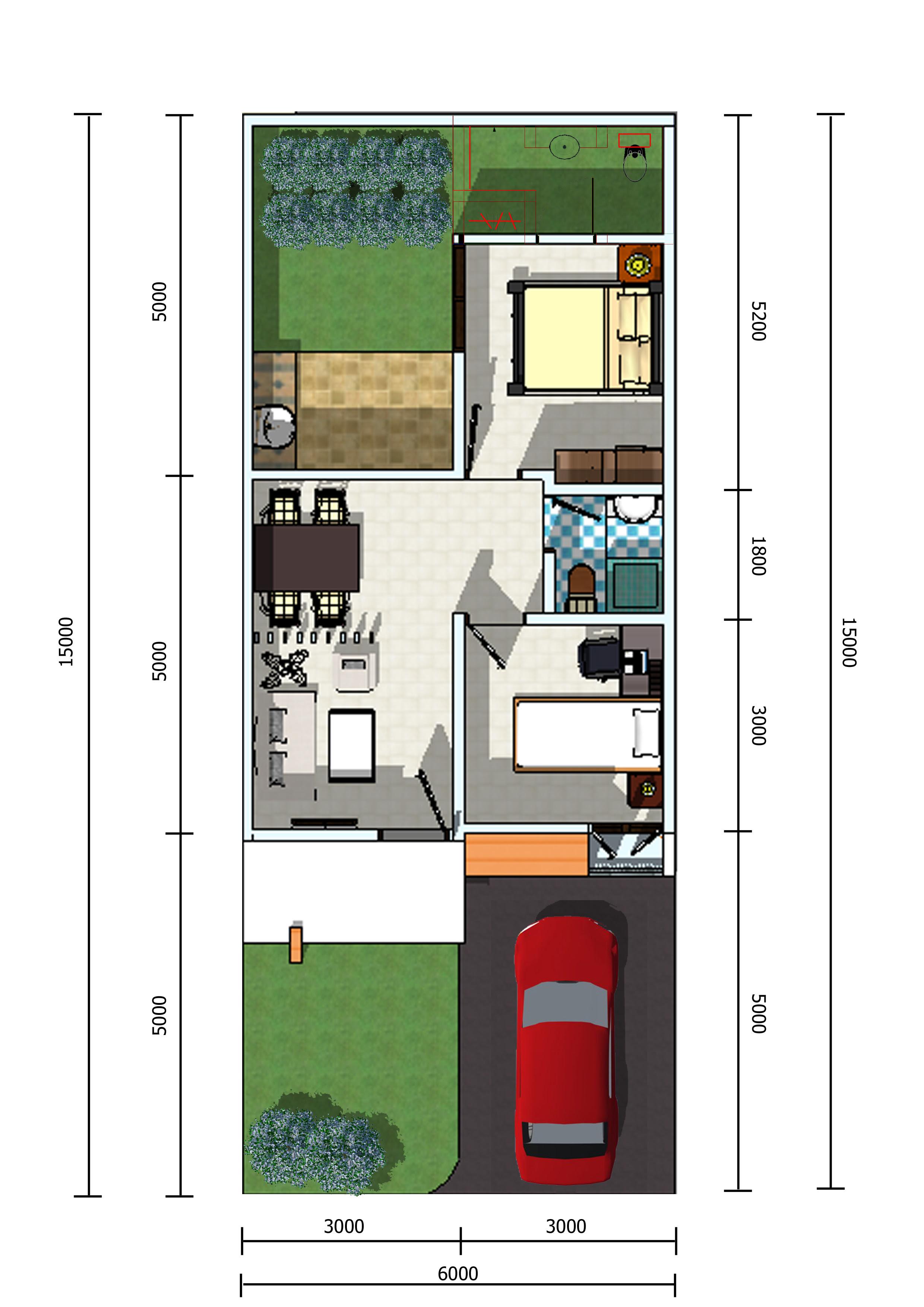 Kumpulan Desain Rumah Minimalis Ukuran 5x12 Kumpulan Desain Rumah