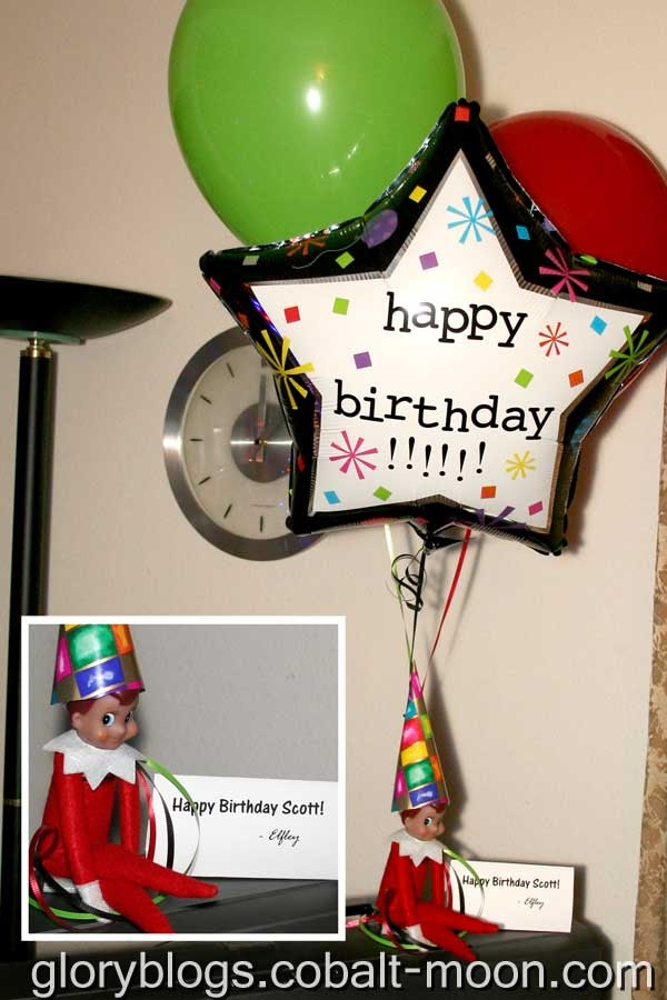 Birthday Letter From Elf At The Shelf Petronila Marchelle
