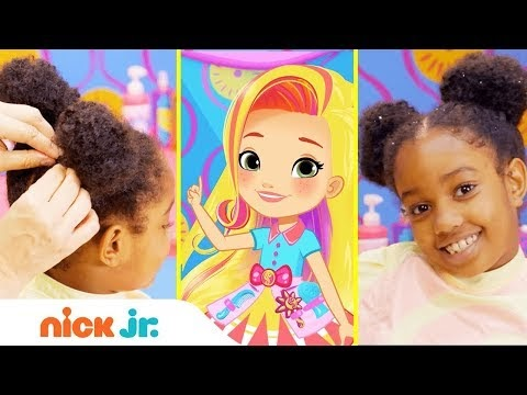 NickALive How To Make Teddy Bear Buns Style Files Hair