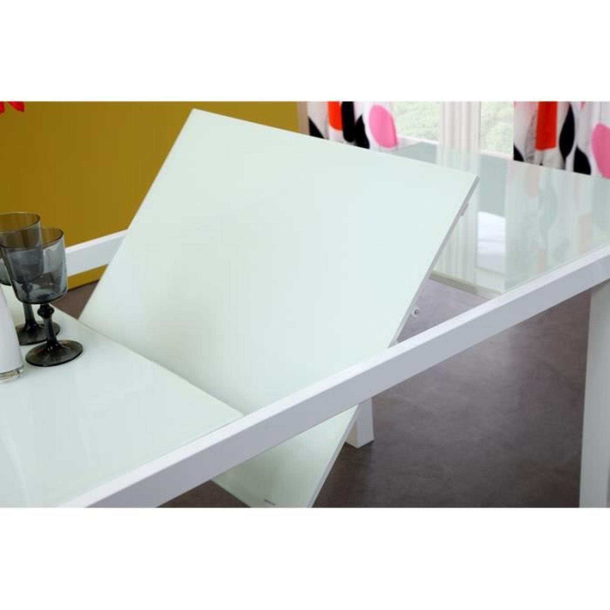 table a manger en verre design