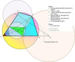 Go Geometry: Geometry Problem 1142: Cyclic Quadrilateral