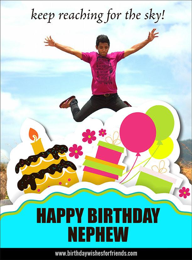 Birthday Wishes For Nephew Funny