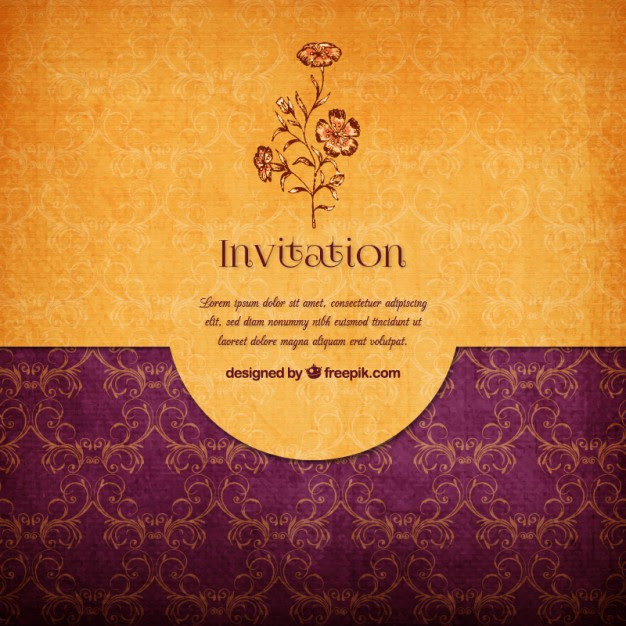 background wedding card design png