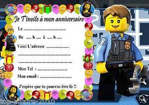 carte anniversaire lego