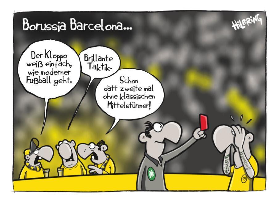 Cartoon Revierderby Raul Kevin Sieger Bvb Schalke Hififorum De