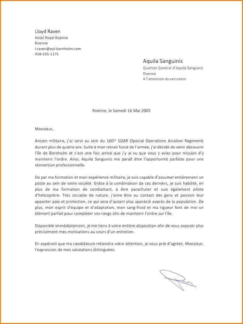 Lettre De Motivation Reconversion Gendarmerie Soalan Bf