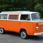 Volk Wagon Van Volkswagen Orange