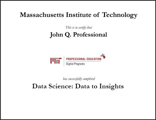 Data Analytics Certification Mit Quantum Computing
