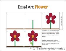 Easel Art- Flower