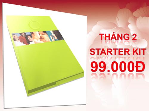 Bộ khởi động (starter kit) thay đổi giá - 99.000 đ