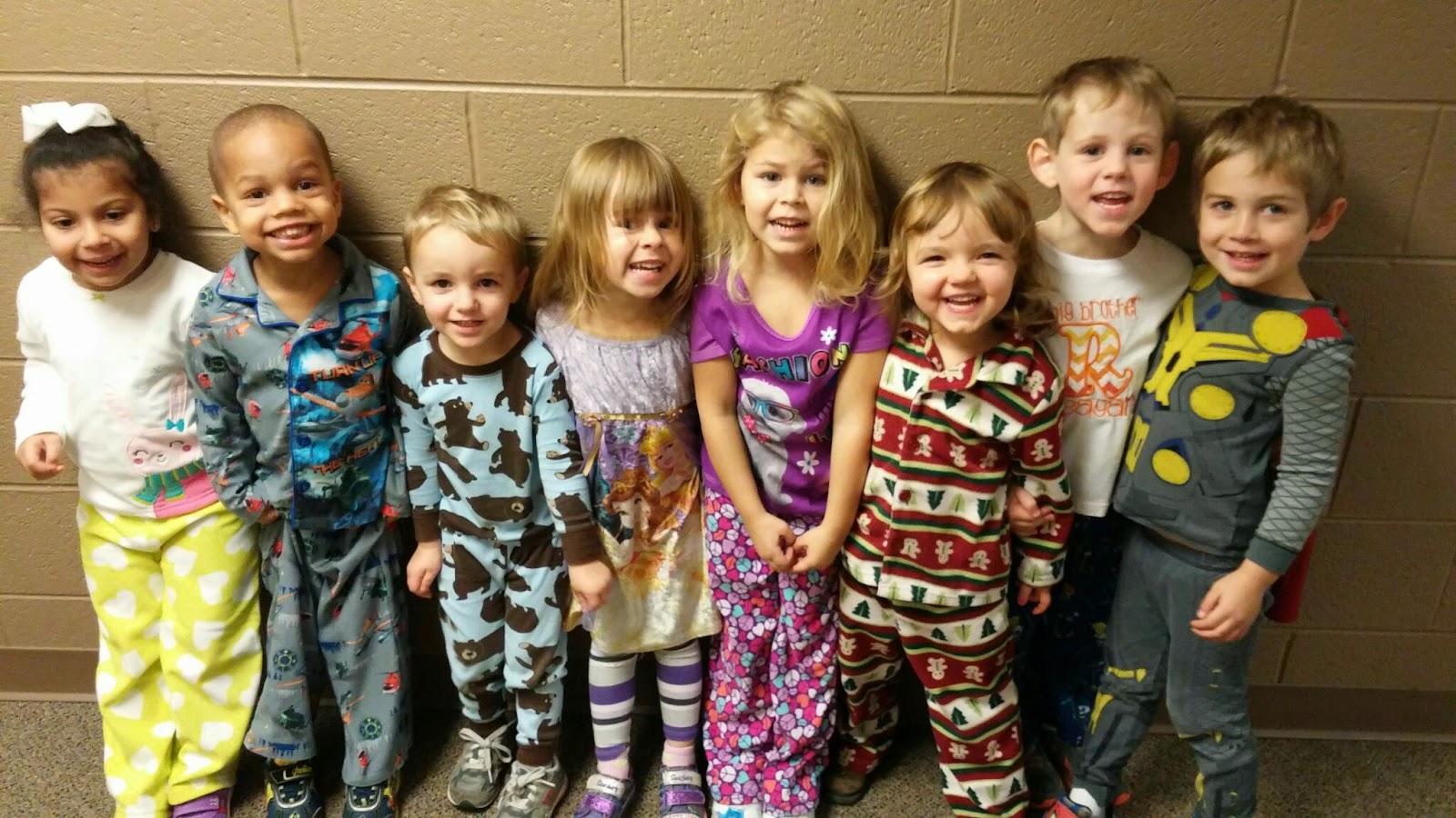 Tusculum Church Child Care Center Preschool Pajama Day