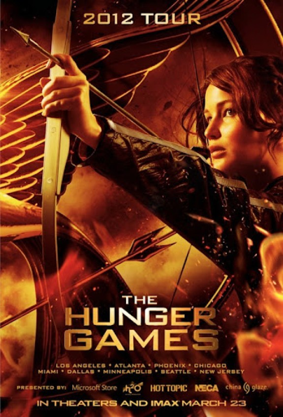 The Hungers Games Poster 2