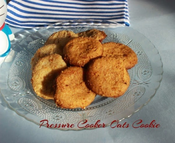 Pressure Cooker Oats Cookie3