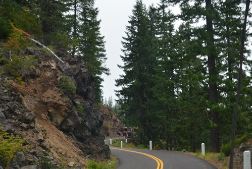 Mackenzie Pass historic road