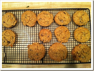 cookies on rack