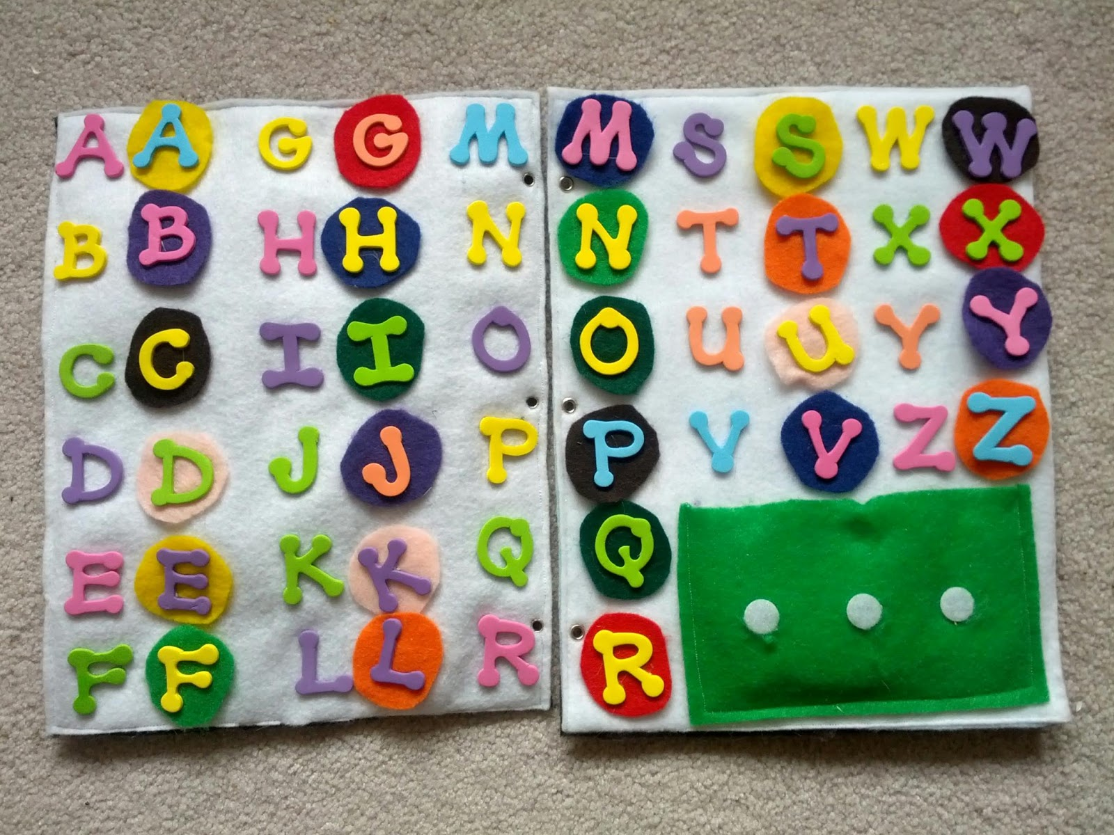 Abc Quiet Book Pages