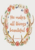 AKA Design - He Makes All Things Beautiful Free Spring Printable