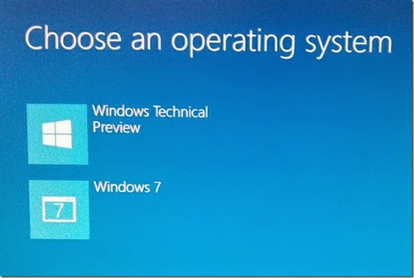 cara mengembalikan komputer ke single OS