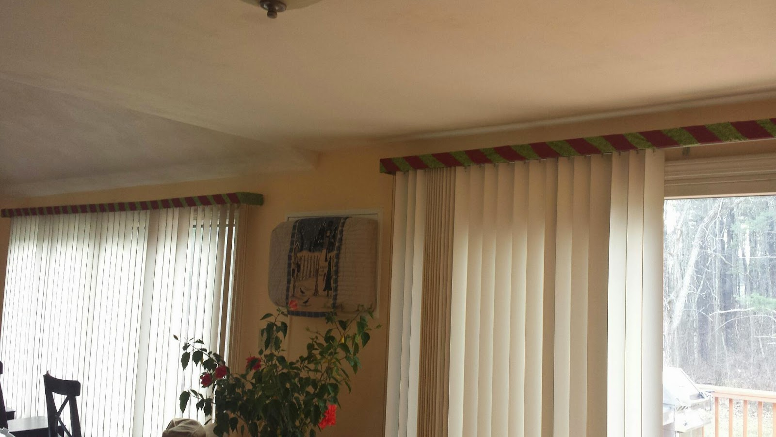 Setting Up Shop Vertical Blind Window Valance Update