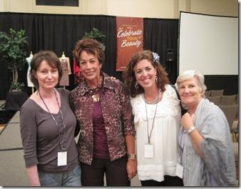 Bev, Carol, Me and Nancy