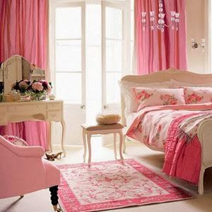 decoracion-rosa-decoración-BOUDOIR-en-habitaciones