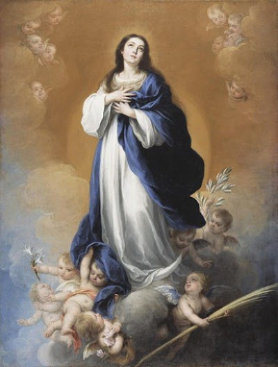 A Imaculada Conceição - Pintura de Bartolomé Esteban Murillo