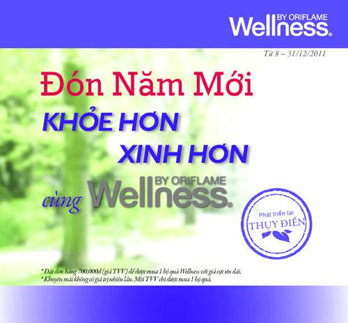 Oriflame 13-2011 - Tháng Wellness của Oriflame: Đón năm mới khỏe hơn, xinh hơn