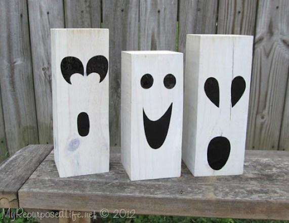 4x4 halloween ghosts