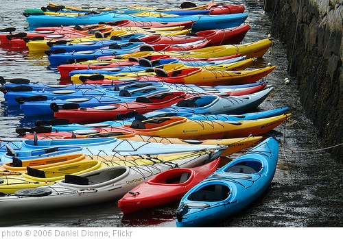 'Kayaks' photo (c) 2005, Daniel Dionne - license: http://creativecommons.org/licenses/by-sa/2.0/