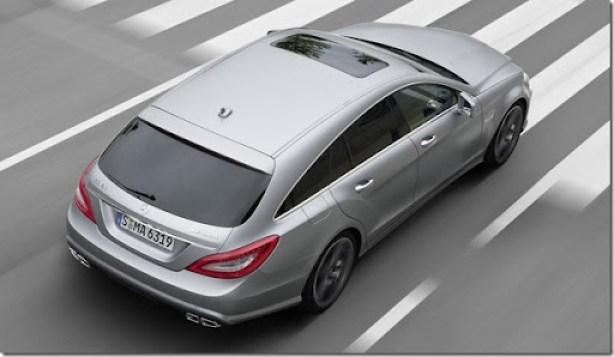 Mercedes CLS 63 AMG Shooting Brake  (3)