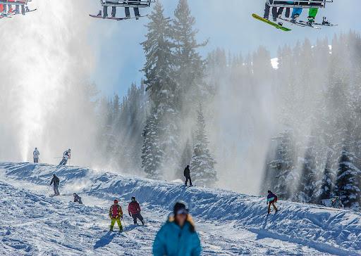 Brighton Ski Resort, opening day