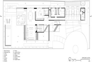 Plano recomendado Casa FF Hernandez Silva Arquitectos