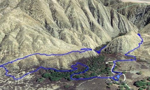 morongo canyon hike 2