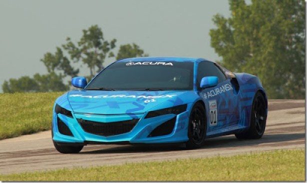 Acura NSX Prototype to Break Cover at Mid-Ohio Raceway