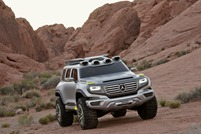 Mercedes-Benz Ener-G-Force Concept Vehicle