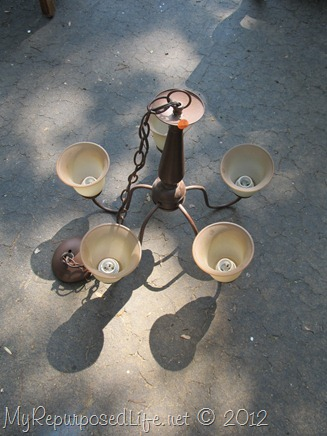 brown chandelier remake-candelabra