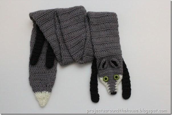 Crochet Fox Scarf Renewed Claimed Path
