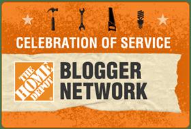 Home Depot COS Blogger Badge
