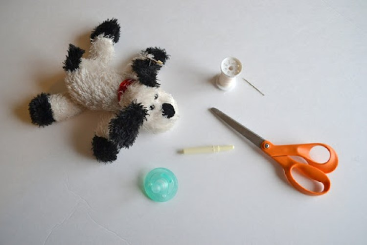 Stuffed Animal Pacifier Tutorial