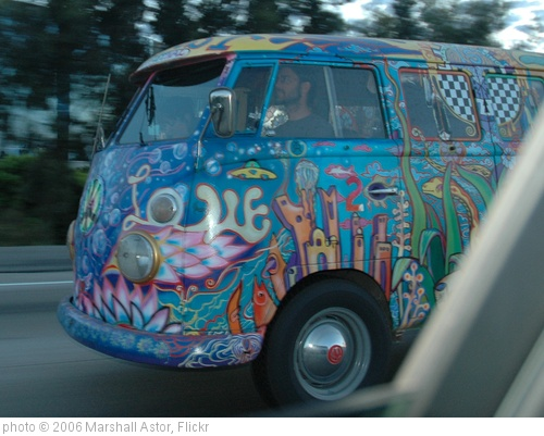 'Hippie VW 3' photo (c) 2006, Marshall Astor - license: http://creativecommons.org/licenses/by-sa/2.0/