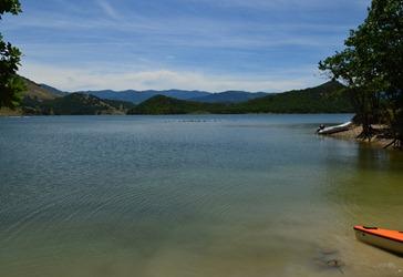 Emigrant Lake near the RV Campground