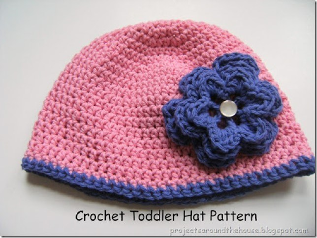 Crochet Toddler Hat Pattern Renewed Claimed Path