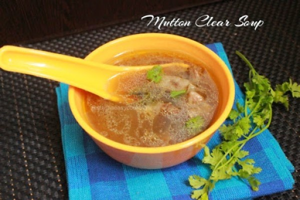 Mutton Clear Soup2