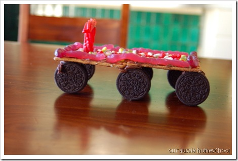 Edible Mars Rover
