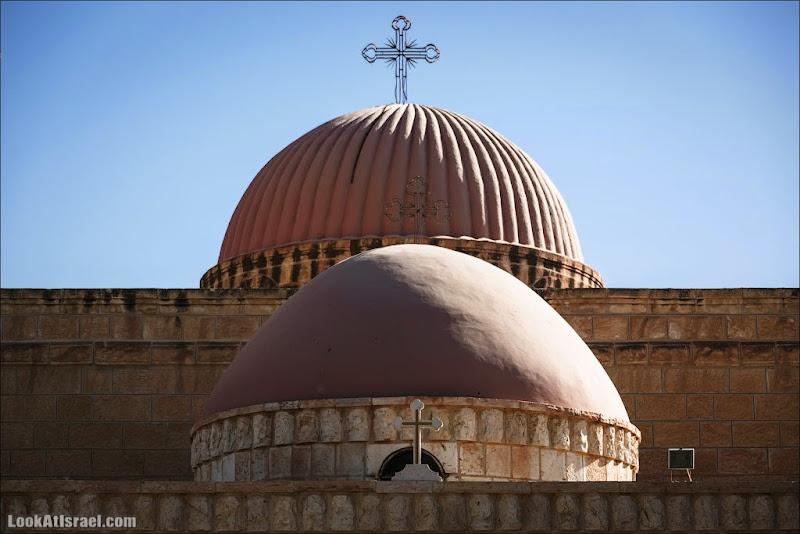 Монастырь пророка Елисея в Иерихоне